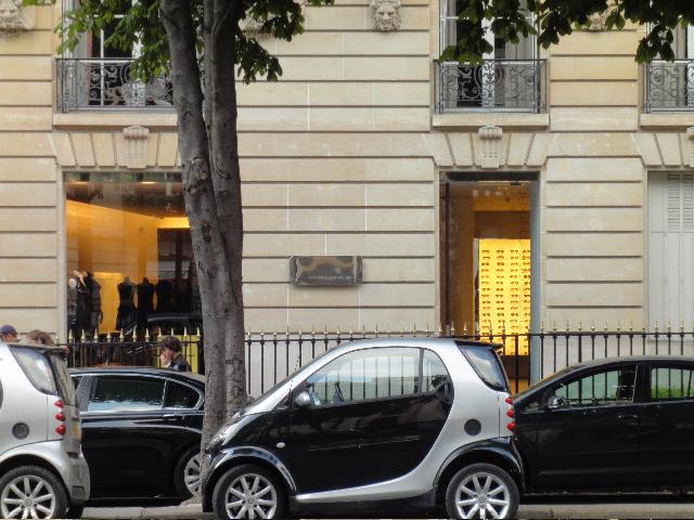 Fachada da Montaigne Market, em Paris