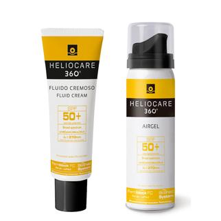 Heliocare-360-Fluid-Cream-y-Airgel