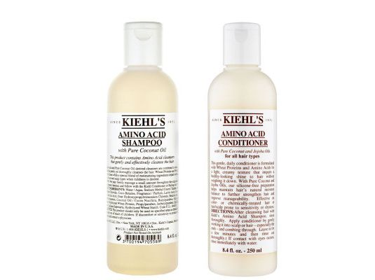 kiehls shampoo & conditioner