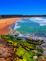 Bondi Beach -  Pra quem curte uma ventura, essa praia é íncrivel! Rodeada de falésias rochosas e com muitas atividades ao ar livre. Como é localizada na Austrália, os surfistas dominam a praia!