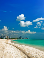 Miami Beach -  Miami é um lugar para todos os estilos, uma grande diversidade cultural, gastronomia abundante, muita música, festas e praias ensolaradas pra se curtir, além de ser o paraíso das compras!