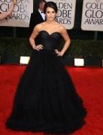 Lea Michelle no Golden Globes