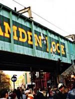 - Camden Lock: O mercado de Camden Lock fica no bairro de Camden Town em Londres e é um dos mercados mais famosos de Londres, recebendo cerca de 100,000 visitantes nos finais de semana.