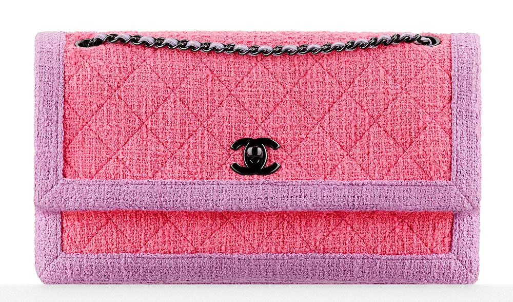 Chanel-Tweed-Flap-Bag-Pink-2800