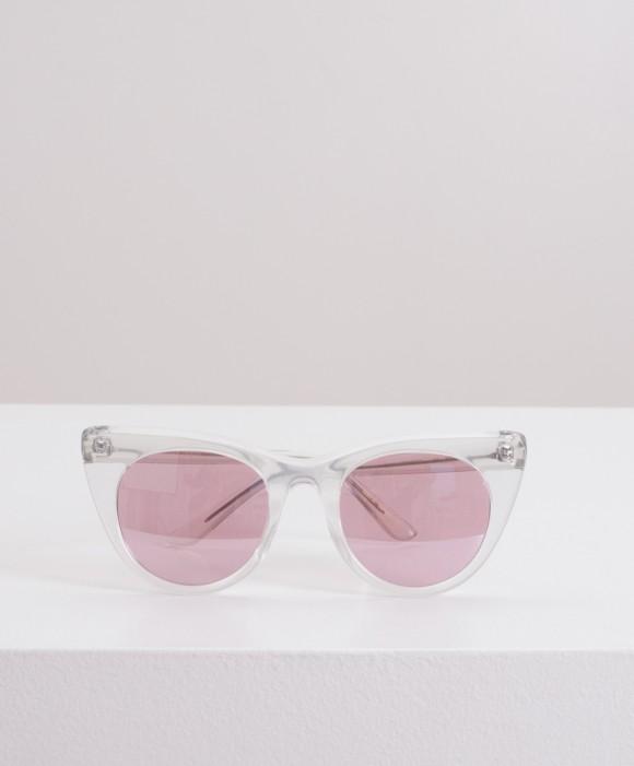 Doshow Transparente lente Rosa