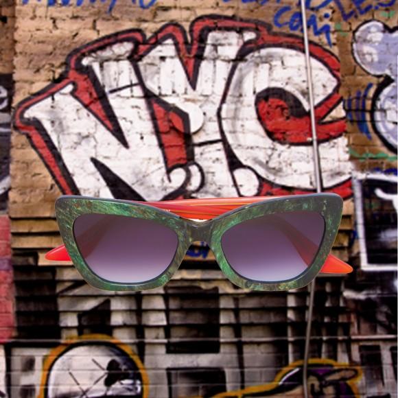 Brooklyn Verde lente Cinza Degradê