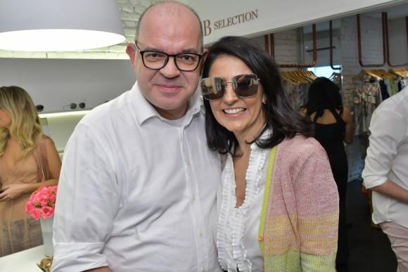 Giovanni Frasson e Alice Ferraz