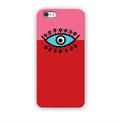olho rosa e red