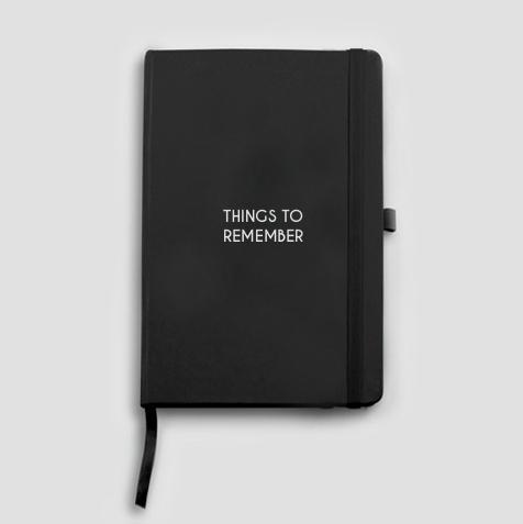 Caderno Moleskine