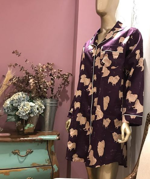 chemise helena e lillas