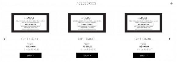 gift cards e-com