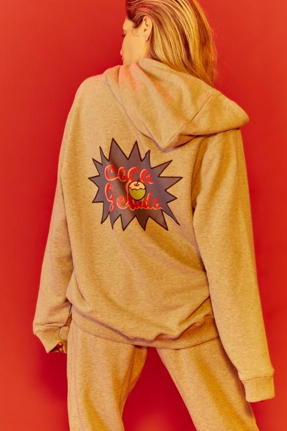 hoodie cinza